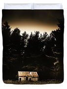 Cabin In The Woodlands  Duvet Cover