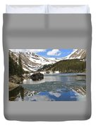 Cabin On Chinns Lake 2 Duvet Cover