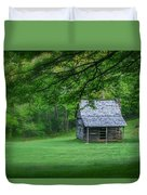 Cabin On The Blue Ridge Parkway - 1 Duvet Cover