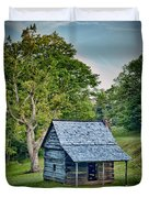 Cabin On The Blue Ridge Parkway - 10 Duvet Cover