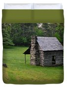 Cabin On The Blue Ridge Parkway - 3 Duvet Cover