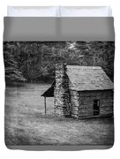 Cabin On The Blue Ridge Parkway - 5 Duvet Cover