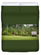 Cabin On The Blue Ridge Parkway - 6 Duvet Cover