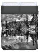 Cabin Reflection Duvet Cover