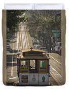 Cable Car Number 6 Duvet Cover