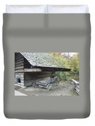 Cable Mill Barn Duvet Cover