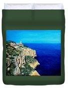 Cabo La Nao Lighthouse Javea Spain Duvet Cover