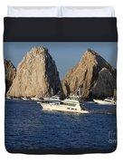 Cabo San Lucas - Sport Fishing Duvet Cover