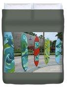 Cabo Surfboard Sculpture 1 Duvet Cover