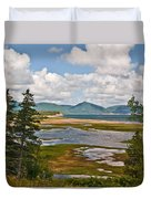Cabot Trail In Nova Scotia Duvet Cover