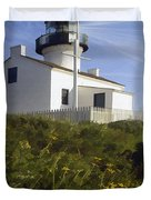 Cabrillo Lighthouse Duvet Cover