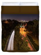 Cabrillo To Downtown Duvet Cover