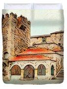 Caceres Spain Artistic Duvet Cover