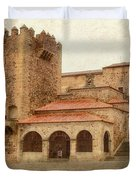 Caceres Spain Duvet Cover