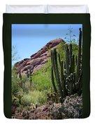 Cacti Garden Duvet Cover