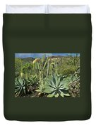 Cacti Of Koko Crater Duvet Cover