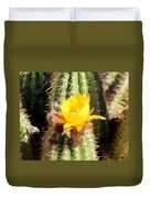 Cactus Bloom 033114a Duvet Cover