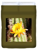 Cactus Bloom 033114e Duvet Cover