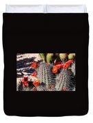 Cactus Bloom 033114f Duvet Cover