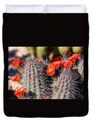 Cactus Bloom 033114g Duvet Cover