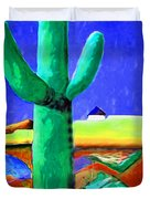 Cactus By Nixo Duvet Cover