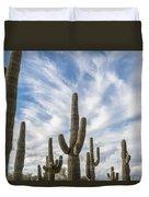 Cactus Choir Duvet Cover