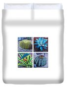 Cactus Close Ups Duvet Cover