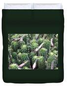 Cactus Drama Duvet Cover