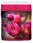 Cactus Flower 07-002 Duvet Cover