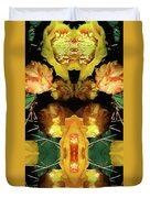 Cactus Flower 08-005 Abstract Duvet Cover
