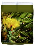 Cactus Flower H28 Duvet Cover