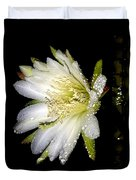 Cactus Flower Duvet Cover