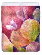 Cactus Heart Duvet Cover