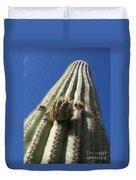 Cactus In The Sky  Duvet Cover