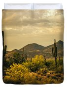 Cactus Morning Duvet Cover