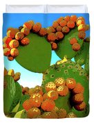 Cactus Pears Duvet Cover