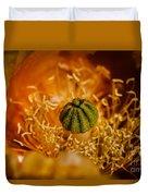 Cactus Pistil Duvet Cover