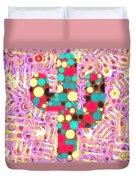 Cactus Pop Art Duvet Cover