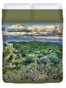 Cactus Rabbit Duvet Cover