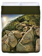 Cactus Rock Duvet Cover