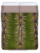 Cactus Spines Duvet Cover