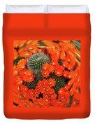 Cactus Swirl Duvet Cover