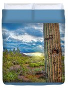 Cactus With Teeth Duvet Cover