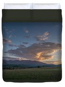 Cades Cove - Great Smoky Mountains National Park Duvet Cover