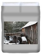 Cades Cove Mill II Duvet Cover