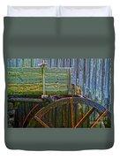 Cades Cove Mill No 2 Duvet Cover