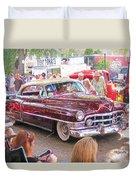 Cadillac Coupe Deville Duvet Cover