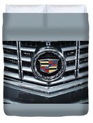 Cadillac Grill Duvet Cover