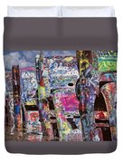 Cadillac Ranch Afternoon II Duvet Cover