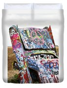 Cadillac Ranch Duvet Cover